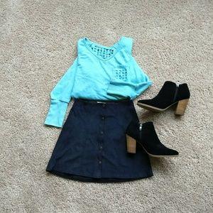 Kendall&Kylie black mini-skirt